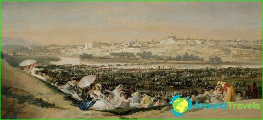 Madrid Francisco Goyan maalauksessa (1788)