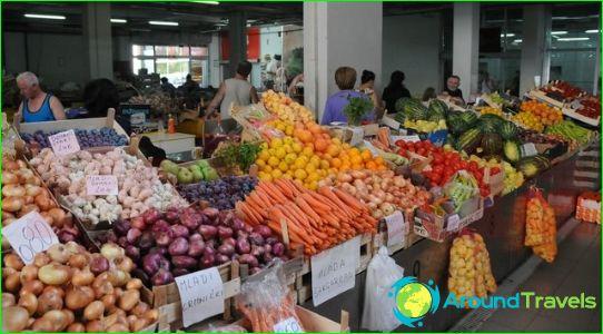 التسوق في الجبل الأسود