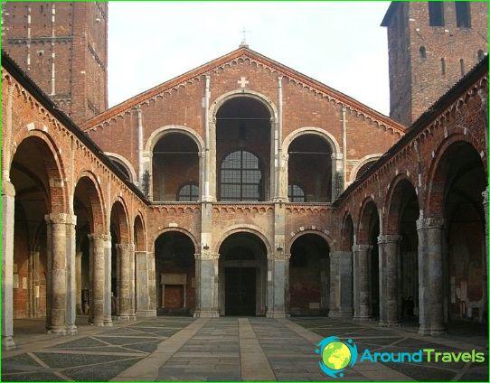 Basilique de Saint Ambroise de Mediolan