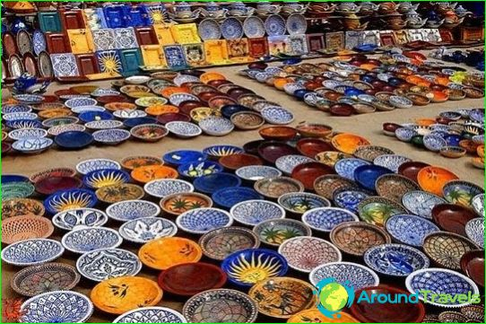 Tunesië Winkelen