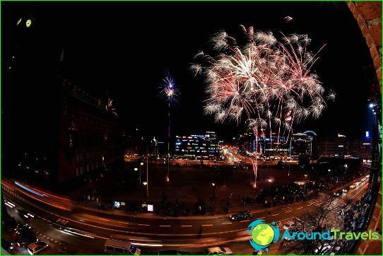 Nieuwjaar in Kopenhagen