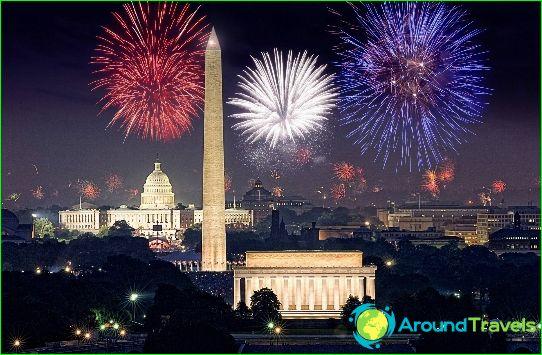 Nouvel an à Washington