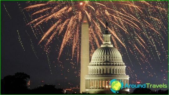 Nieuwjaar in Washington
