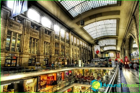 Магазини и пазари Лайпциг