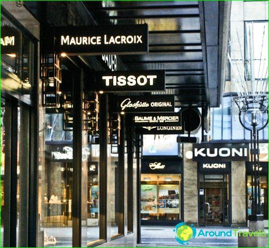 Myymälöitä ja putiikkeja Genevestä