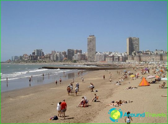 Argentiinan rannat