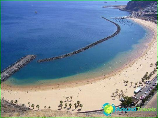 Stranden van de Canarische Eilanden