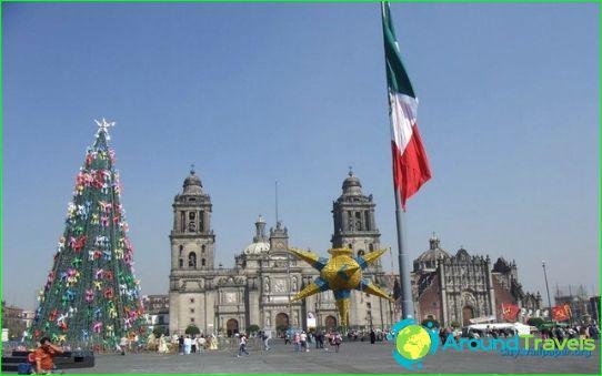 Коледа в Мексико