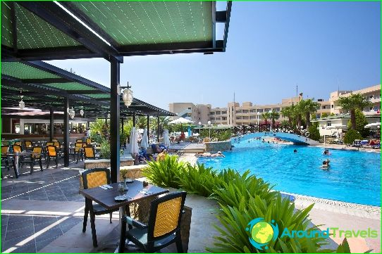 Lomat Kyproksessa elokuussa