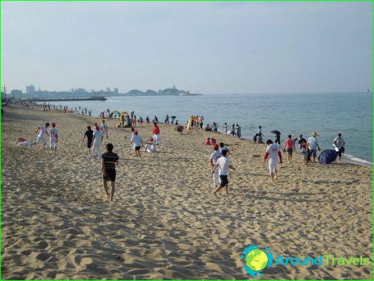 Etelä-Korean rannat