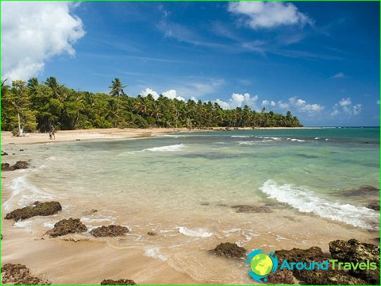 Stranden van Puerto Rico