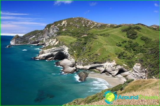 Новозеландски плажове