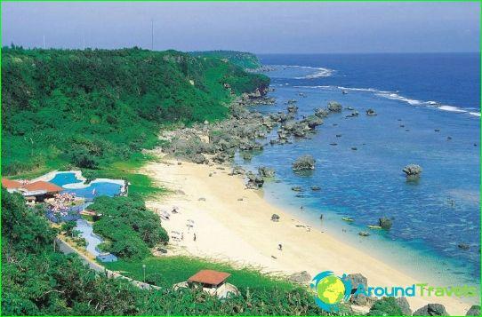 Stranden van Japan