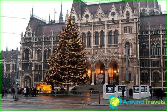 Joulu Unkarissa
