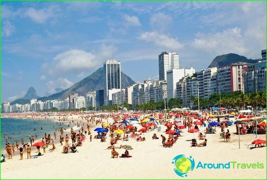 Plages au Brésil