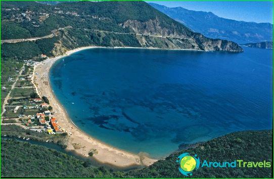 Плажове в Черна гора