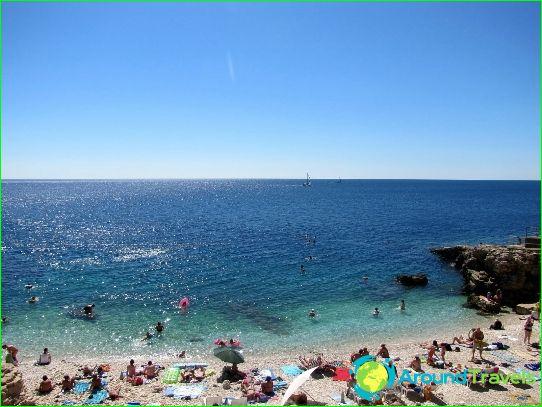 Stranden van Kroatië