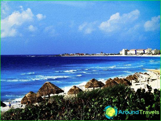 Stranden van Mexico