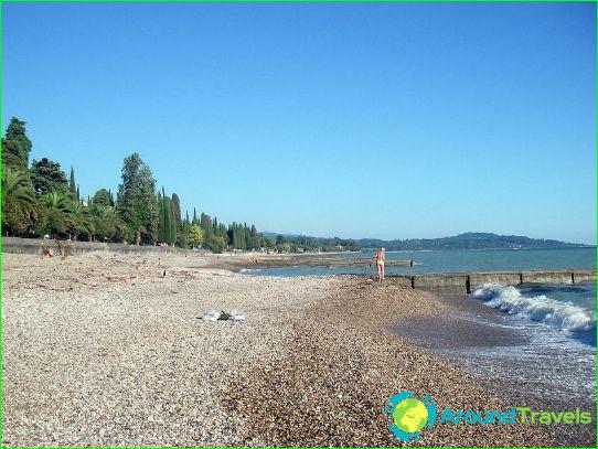 Плажове в Абхазия