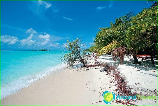 Rannat Malediiveilla