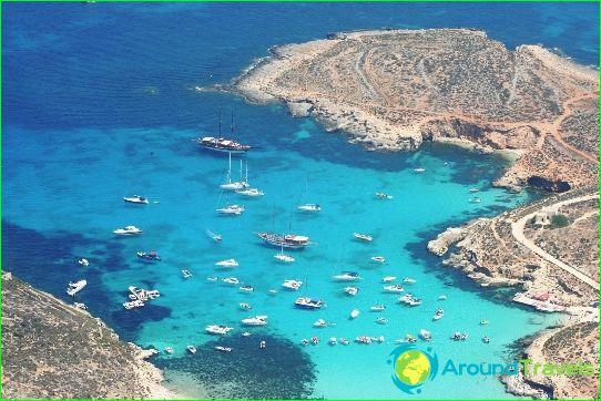 Stranden van Malta