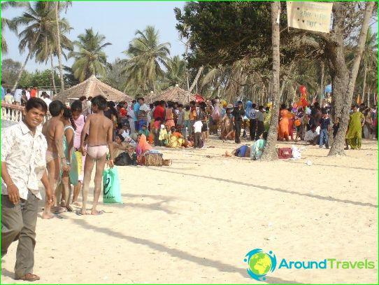 Stranden in Goa