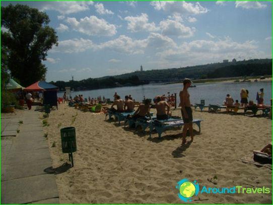 Stranden in Kiev