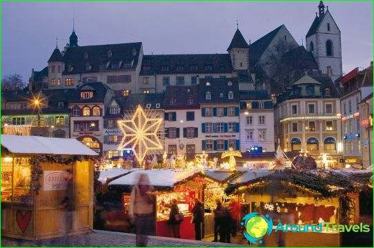 Joulu Sveitsissä