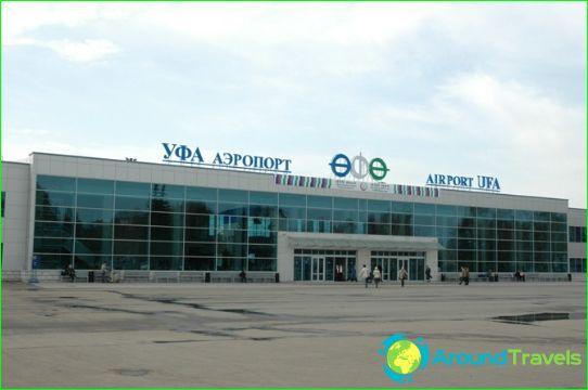 Lentokenttä Ufa