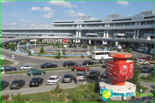 Lentokenttä Minsk