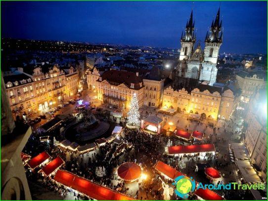 Коледа в Чехия