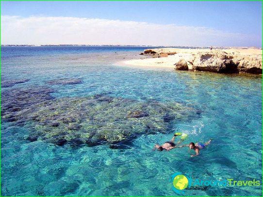 Hurghadan rannat