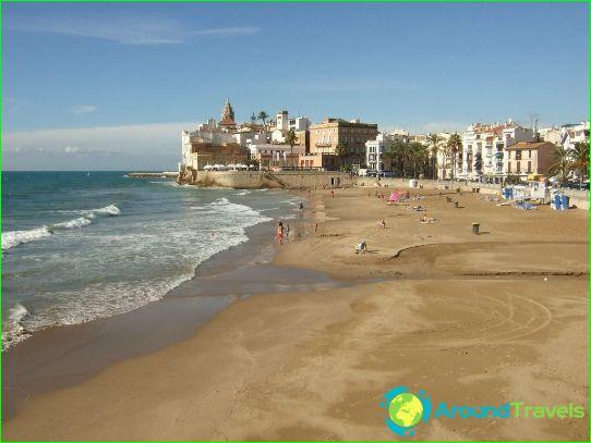Stranden van Barcelona