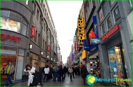 Kölnin kauppoja ja putiikkeja