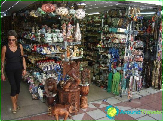 Winkels en markten van Kemer
