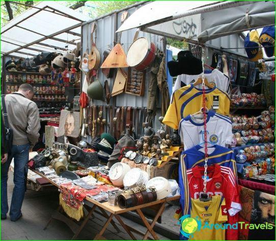 Kiovan kauppoja ja putiikkeja