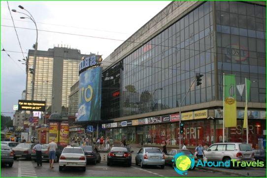 Winkels en boetieks van Kiev