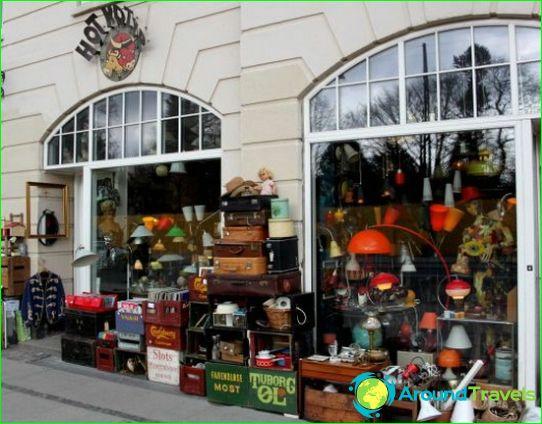 Kööpenhaminan kauppoja ja putiikkeja