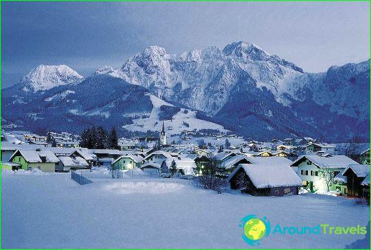 Ски курорти в Австрия