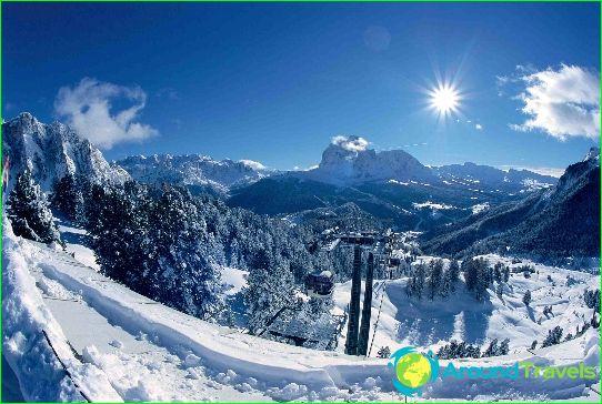 Skigebieden in Italië