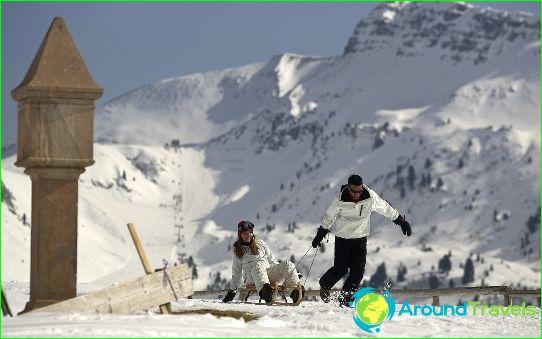 Stations de ski en Italie