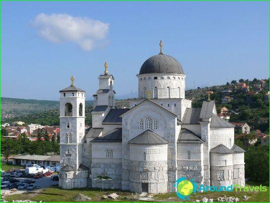 Podgorica - de hoofdstad van Montenegro