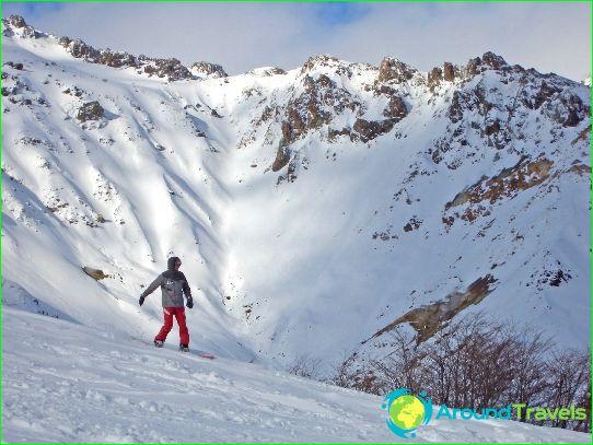 Ски курорти в Чили