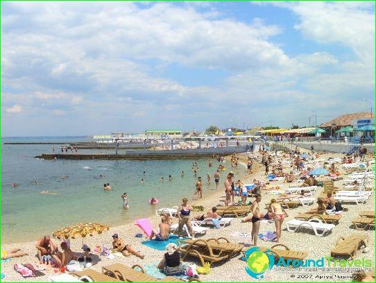 Stranden van Sevastopol