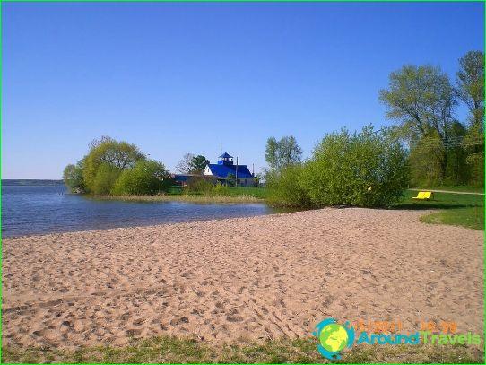 الشواطئ في مينسك