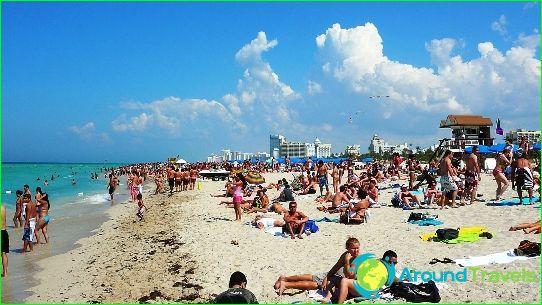 Miami stränder