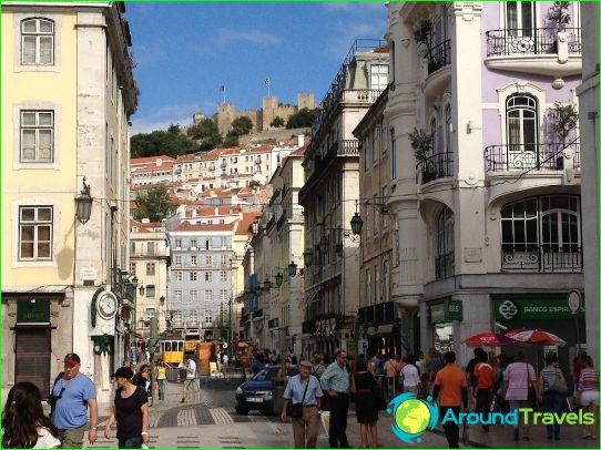 Магазини и търговски центрове на Лисабон