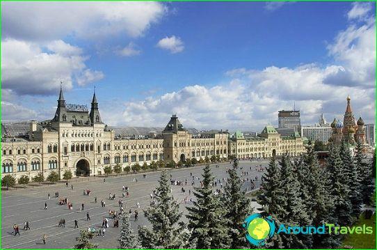 Moskou winkels en winkelcentra