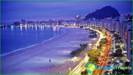 Stranden van Rio de Janeiro