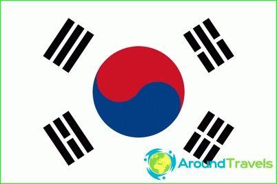 Etelä-Korean lippu